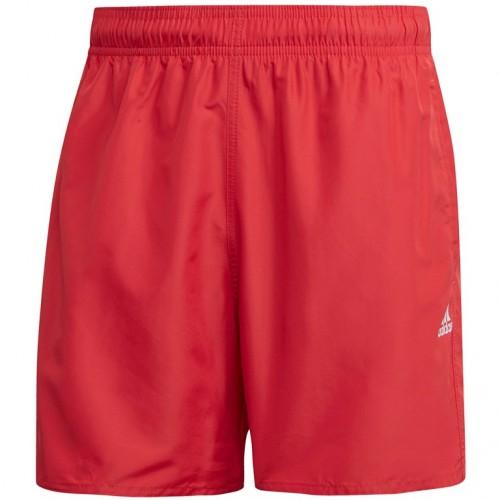 Adidas Men's CLX Solid Swim Shorts SL
