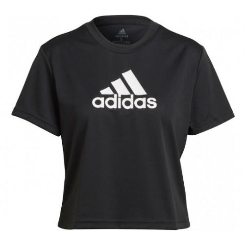 Adidas Crop Logo Sport Shirt Women